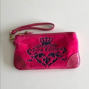 Hot Pink Juicy Couture Wristlet